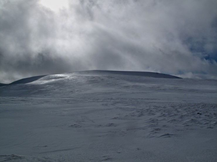 Glas Maol makes a reasonable, albeit icy descent. bit walking required though.