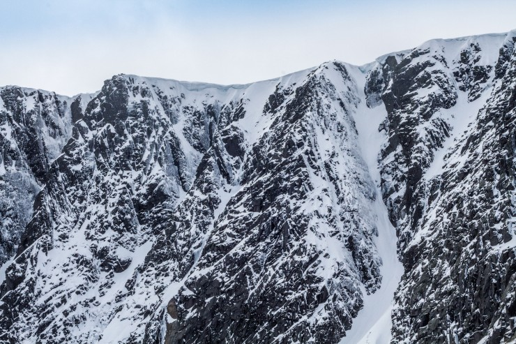 Raeburns Gully on the right.