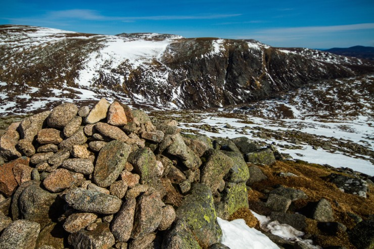 Eagles Rocks from Cairn Bannoch.