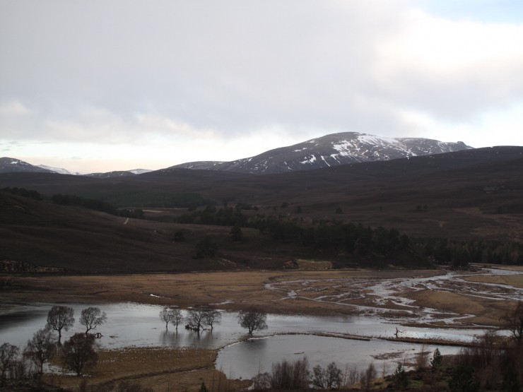 Beinn a Bhuird. Significant water was supplied from this area along with Ben MacDui and Braeriach.