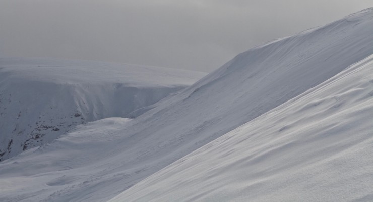 East Face Glas Maol.