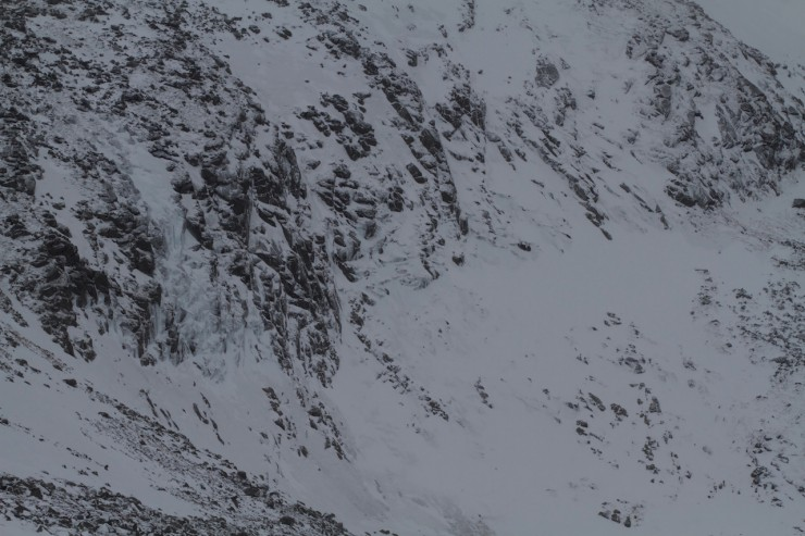 Icefall in the Hidden Corrie.
