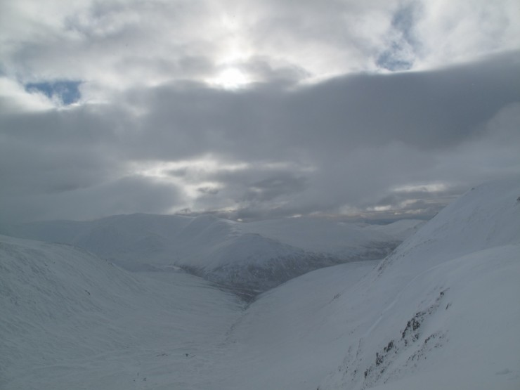 Looking South from Coire Direach
