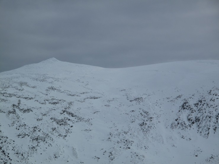Looking across to Cac Carn Beag