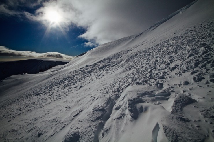 East Face of Glas Maol