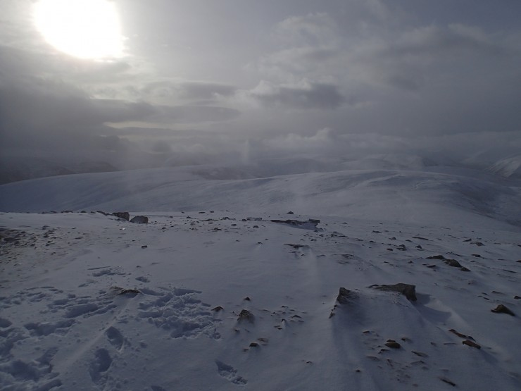 View from Morrone, photo courtesy of BMRT