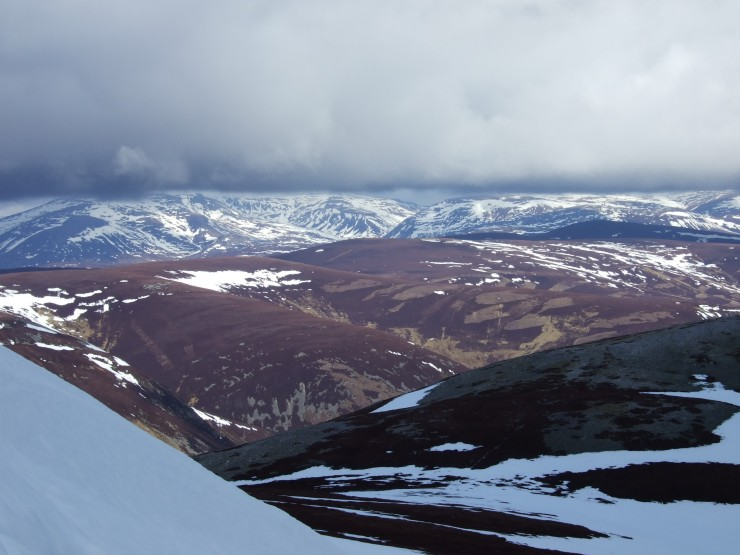 Looking North-West from Carn Aosda Coire