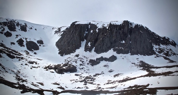 Corrie Etchachan from The Hutchinson Hut.