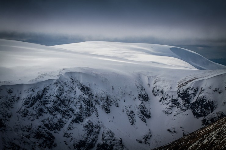 Corrie Kander and Glas Maol.