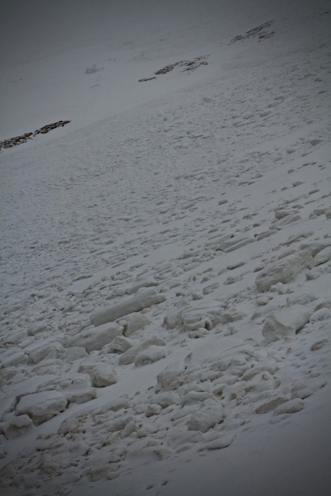 Avalanches at Corrie Fionn