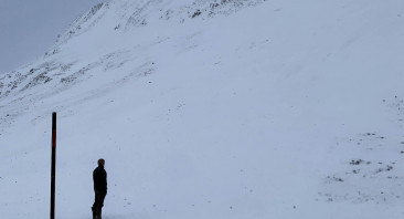 Snow 'Tornado'…..and Avalanches!